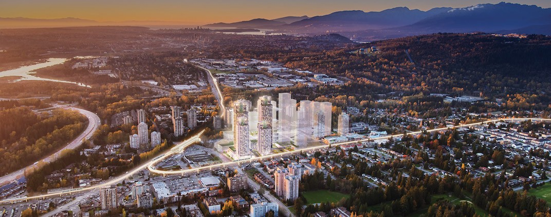 City of Lougheed Burnaby