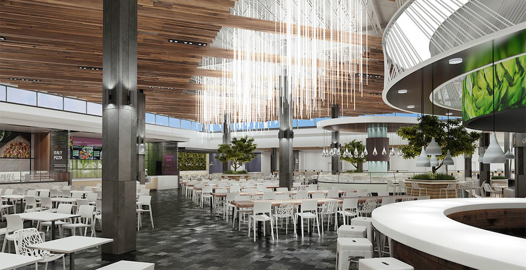New food court coming to Lougheed Town Centre mall