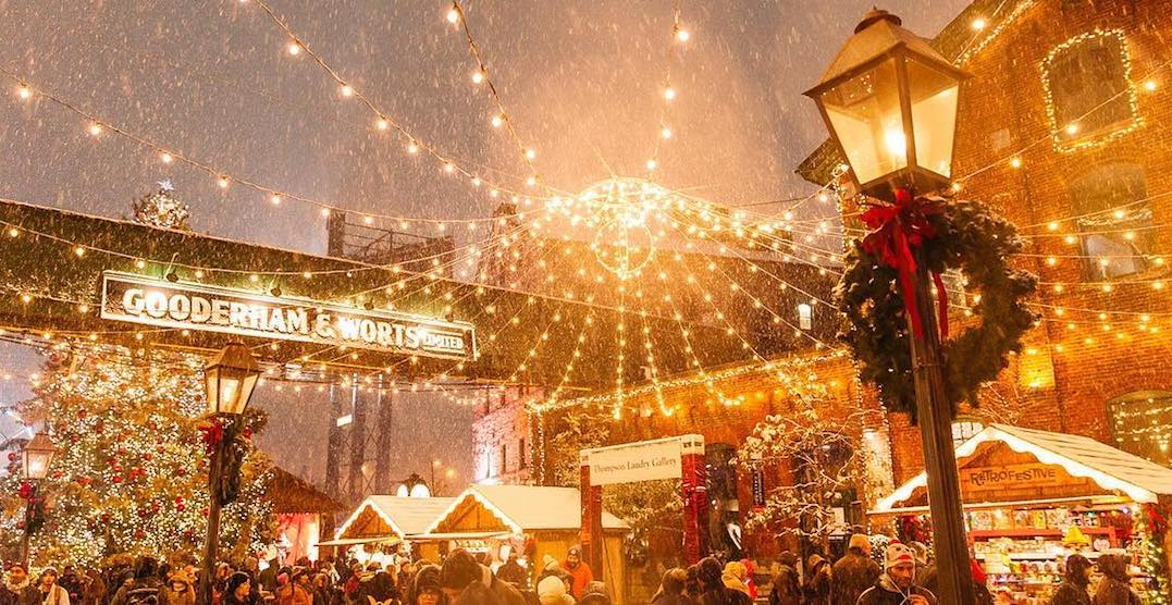 It's your last week to go to the Toronto Christmas Market