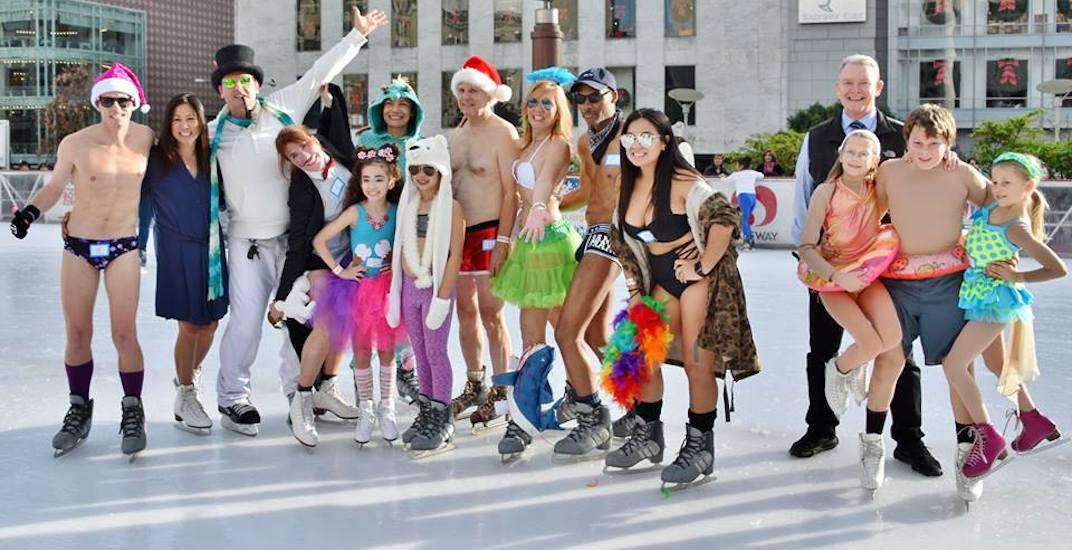 You can skate in your underwear below the Gardiner in December
