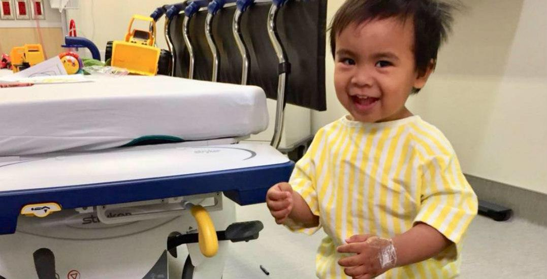 $200k needed for life-saving surgery for toddler with rare disease