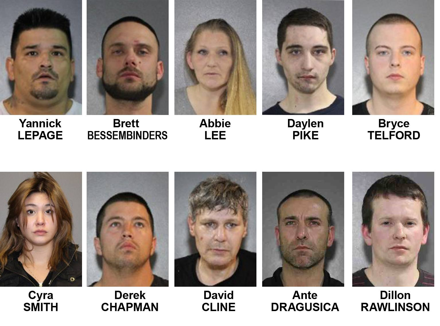 10 prolific offenders wanted on RCMP's holiday naughty list