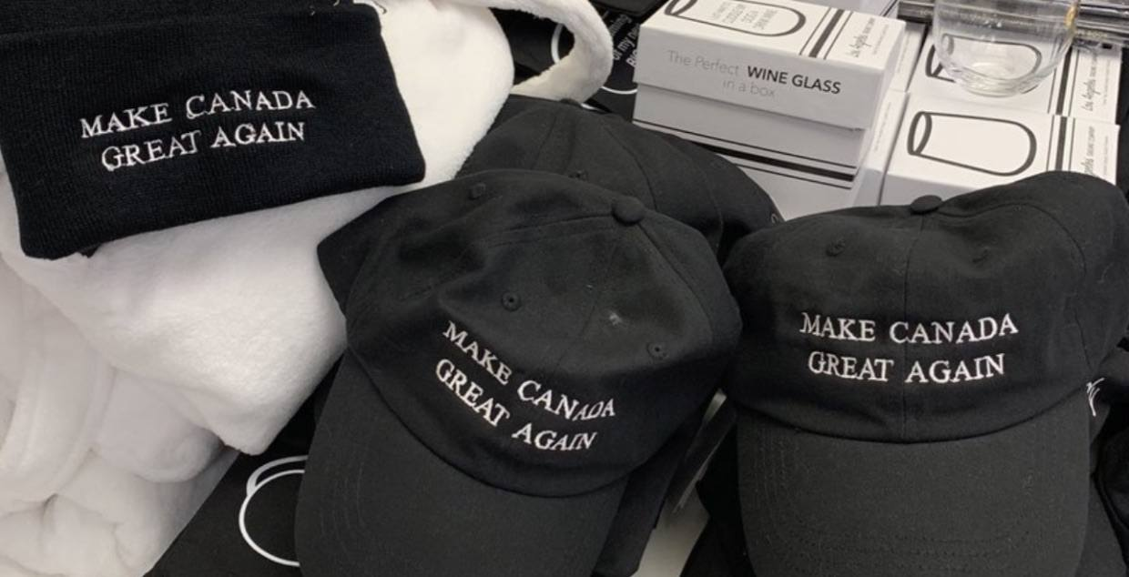 'Make Canada Great Again' hats spotted at Hudson's Bay months after removal