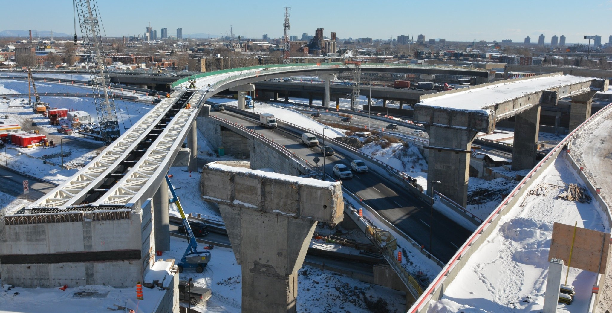 There won't be any closures on the Turcot during the holidays