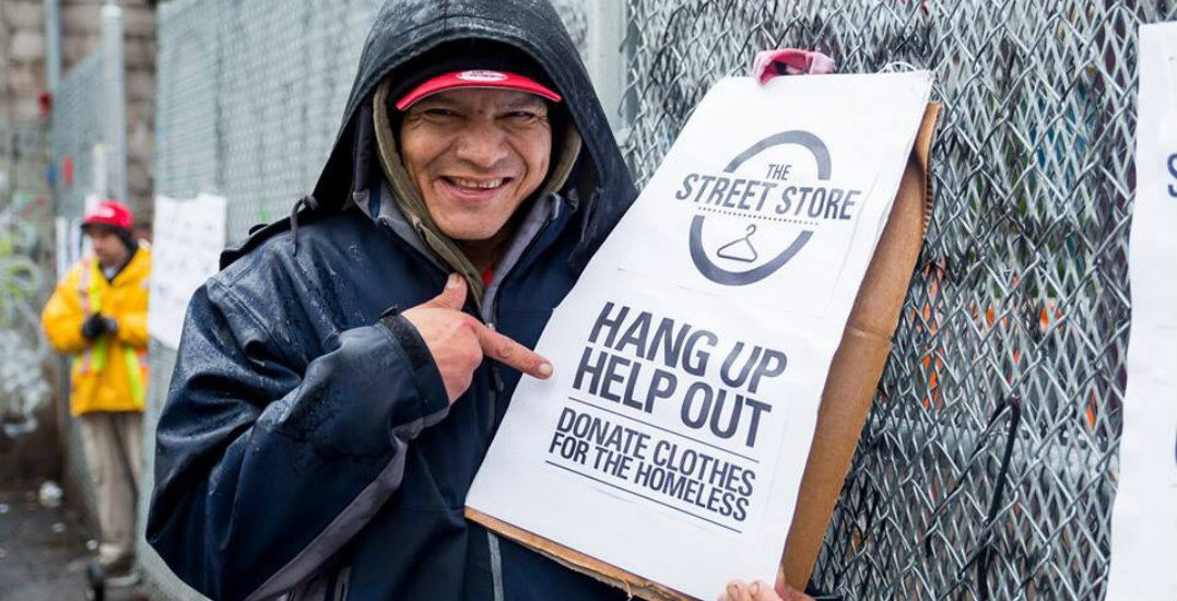 Donations needed for free pop-up clothing store in Downtown Eastside