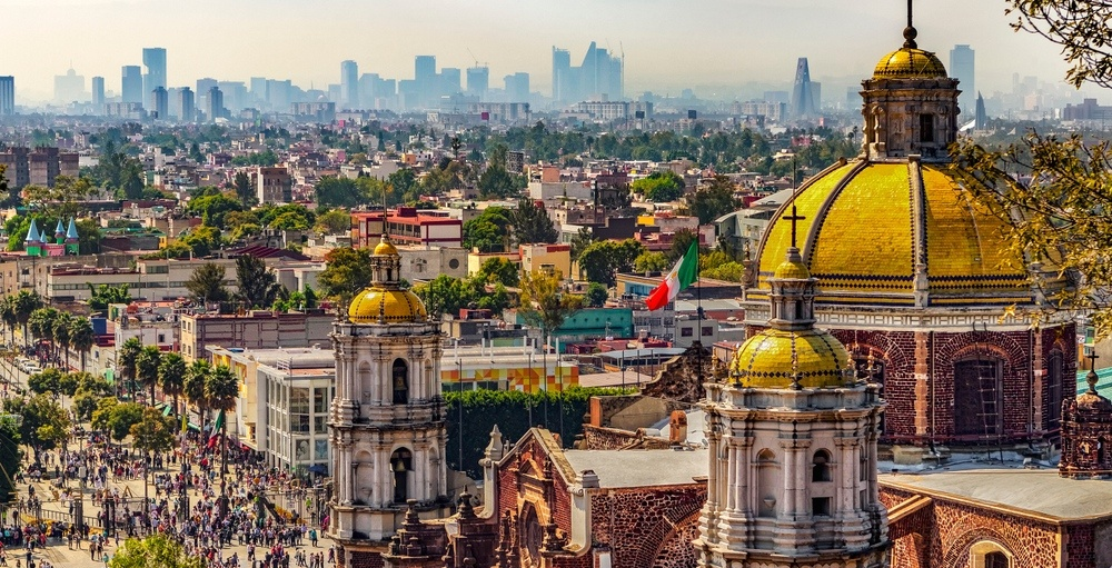 You can fly from Toronto to Mexico City for under $330 roundtrip this winter