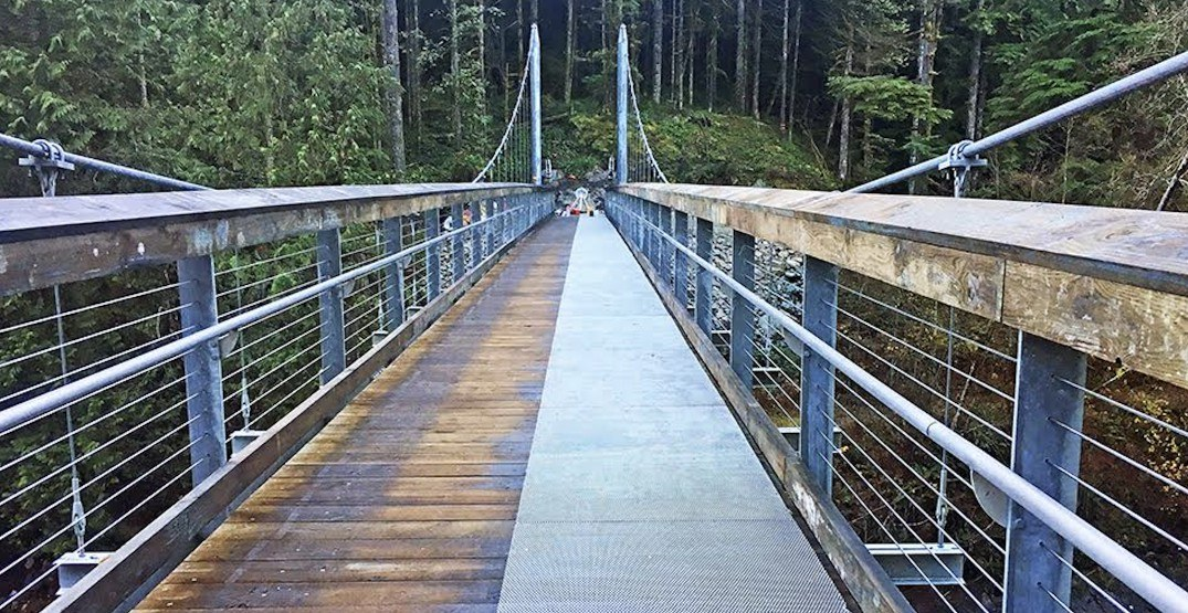 North Vancouver's newest suspension bridge is finally open