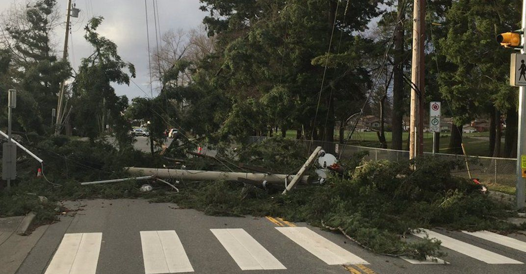 BC Hydro restores power to 400,000 customers following storm