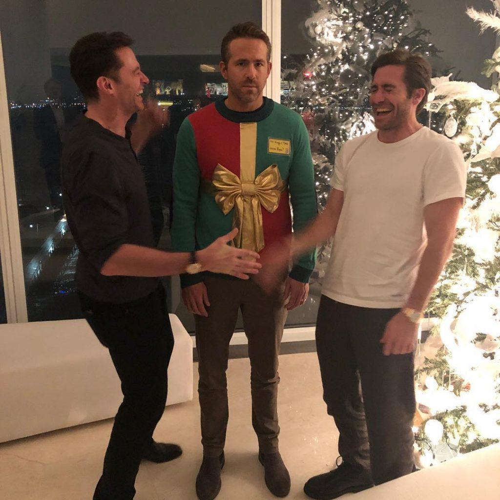 Ryan Reynolds Tricked Into Wearing Ugly Christmas Sweater By Celeb