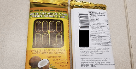Bulk Barn issues recall for chocolate bars containing undeclared allergen