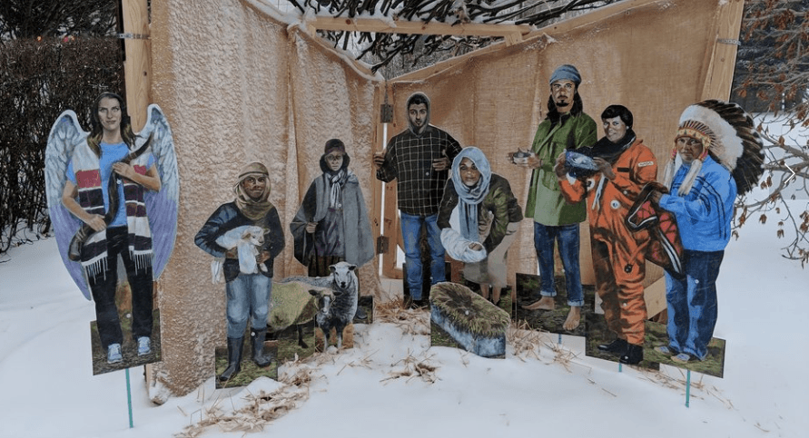 This Canadian church is tossing the traditional nativity for inclusive modernity