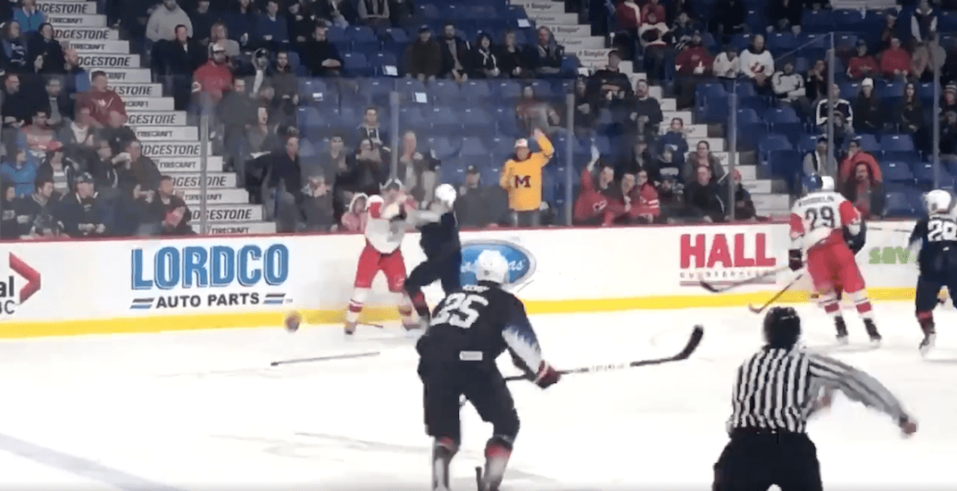 Canucks prospect Quinn Hughes involved in pre-World Juniors altercation (VIDEO)