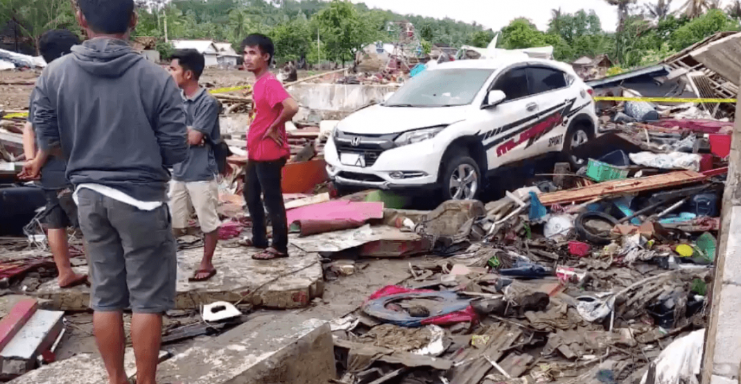 Global Affairs not aware of any Canadians hurt in Indonesian tsunami