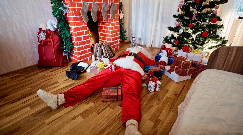 All this holiday cheer may actually give you a heart attack: study