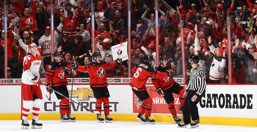 Canada scores 14 goals in dominant World Juniors opener win