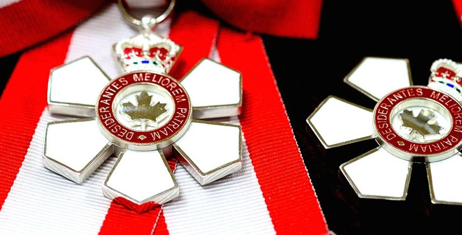 103 new members have been appointed to the Order of Canada