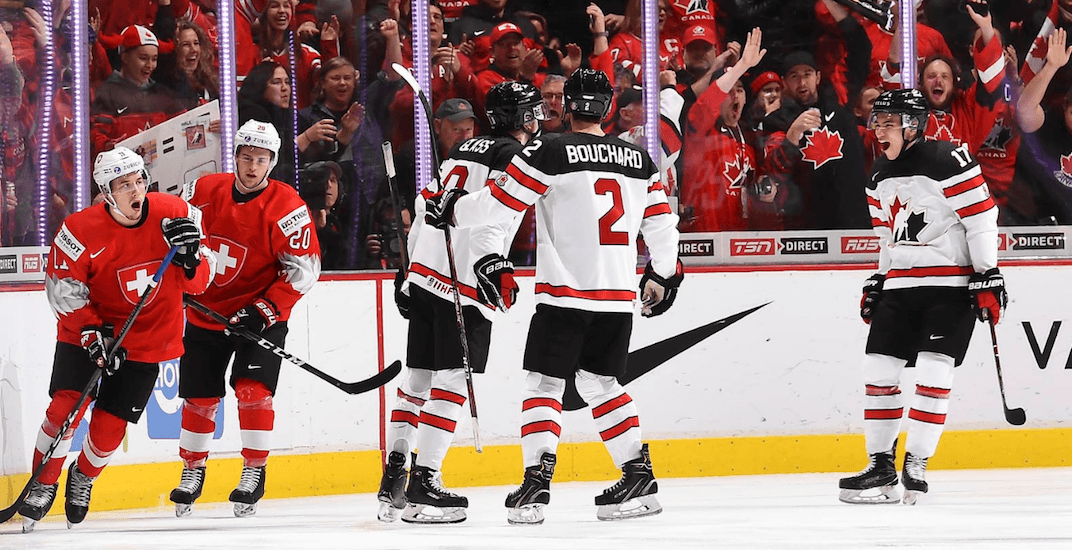 Canada squeaks past Switzerland for second straight World Juniors win