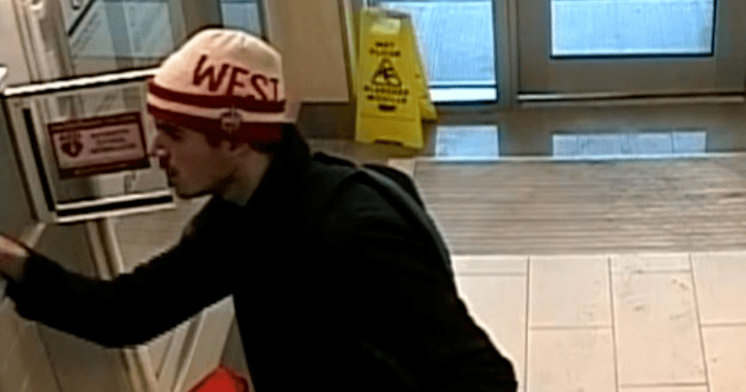 Peel Police searching for suspect who stole a defibrillator from bus station