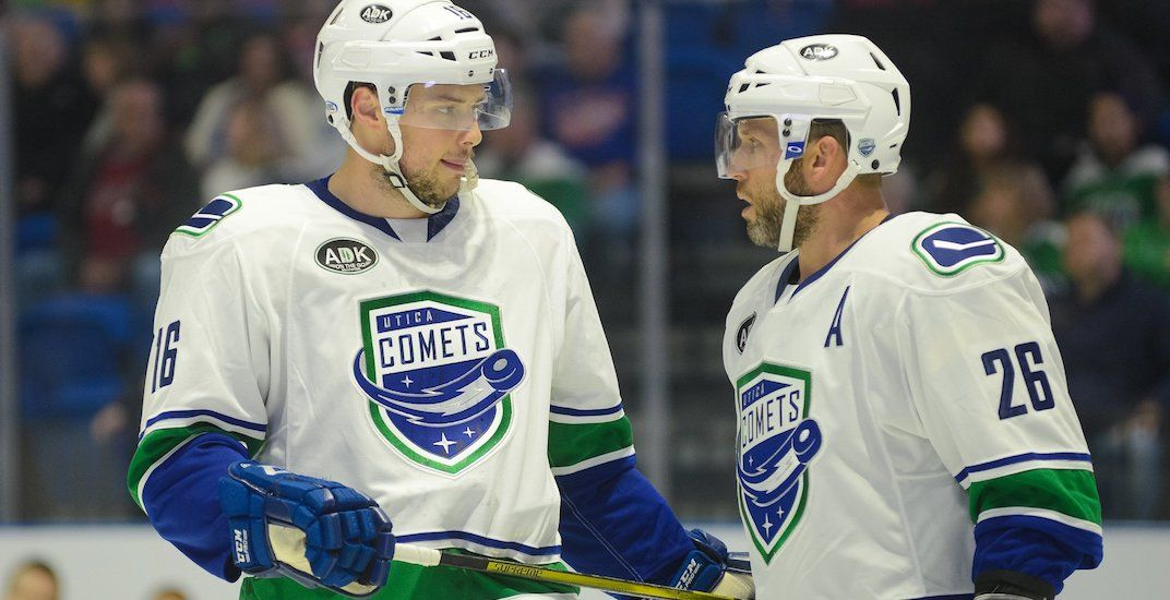 Canucks announce they are keeping their AHL team in Utica