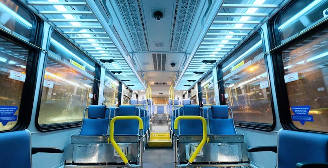 TransLink limiting seating capacity on buses by 50% for physical distancing