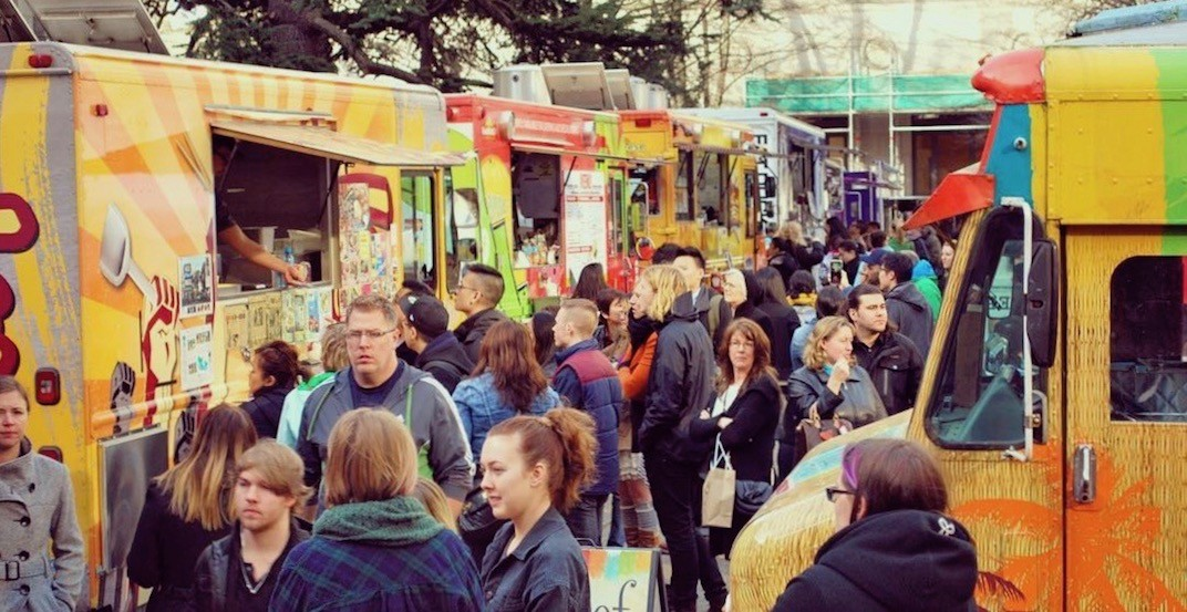 A huge food truck festival is happening in Vancouver this month