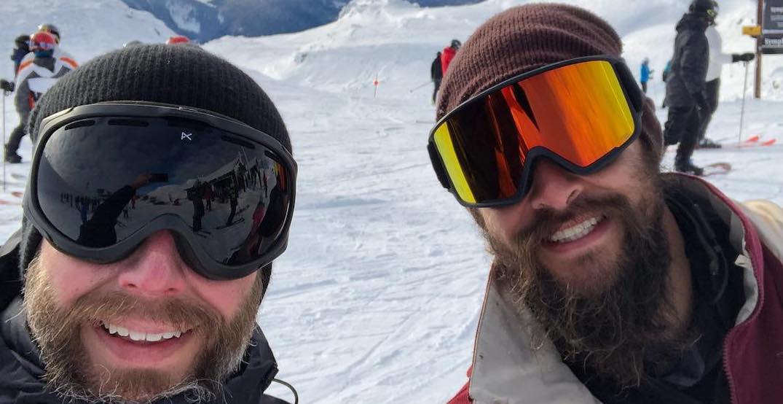 Jason Momoa spotted hitting the slopes of Whistler (PHOTOS)