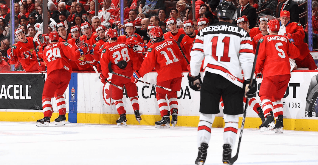 Canada stunned by Russia in first loss at World Juniors