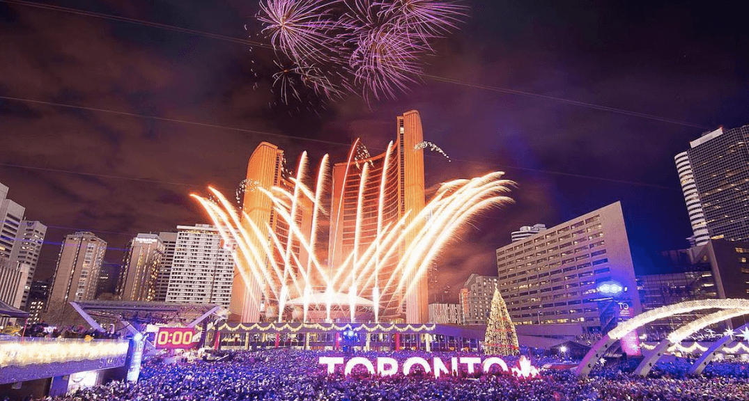 17 magical photos from New Year's Eve at Nathan Phillips Square (PHOTOS)