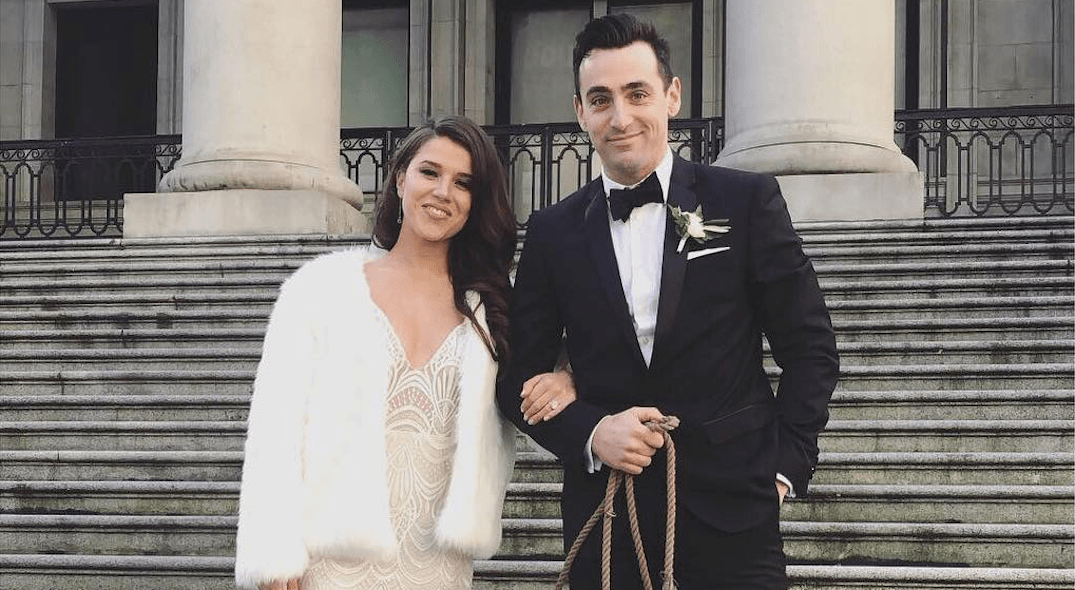 Hedley's Jacob Hoggard got married in Vancouver on New Year's Eve (PHOTOS)