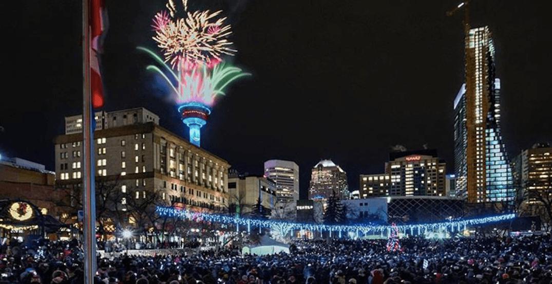 Here's how Calgary celebrated New Years 2019 (PHOTOS)