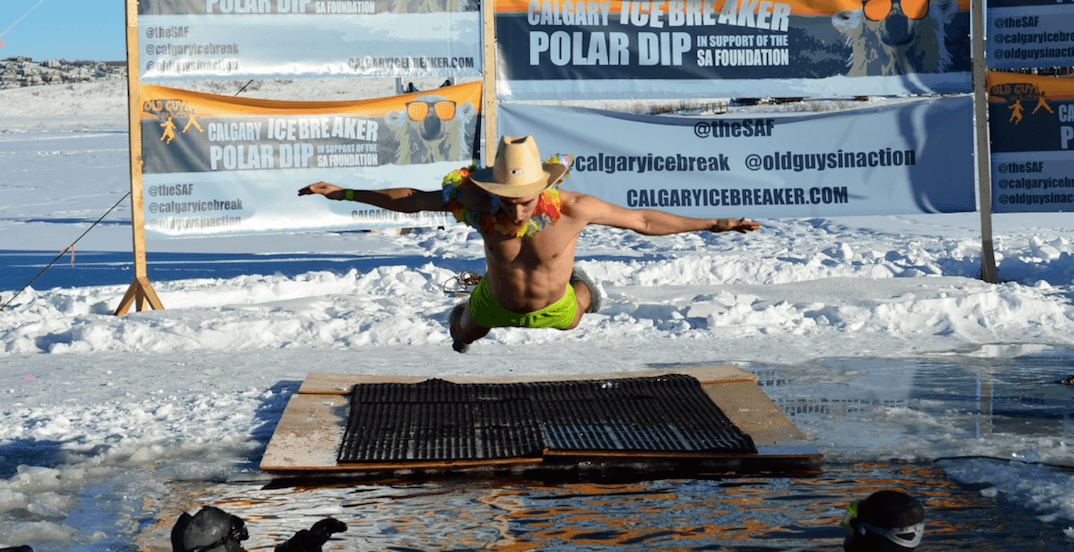 Take an icy plunge in Calgary at this year's Polar Dip