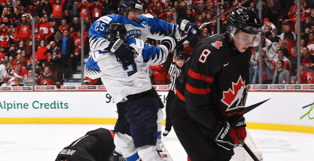 Finland stuns Canada in overtime in World Juniors quarter-final