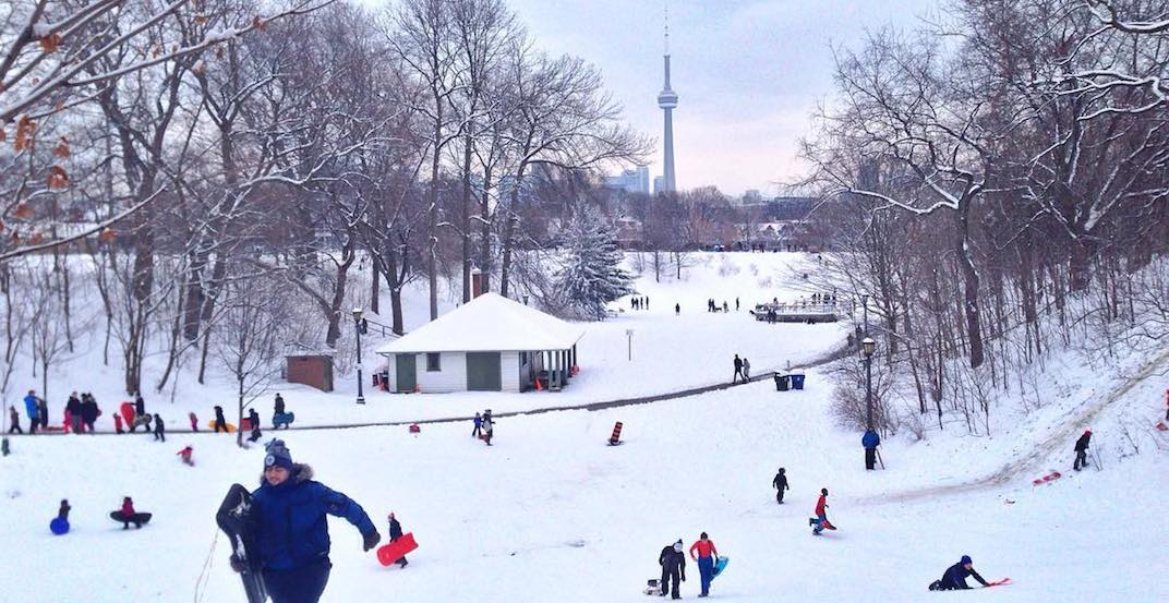 Up to 10 cm of snow expected for Toronto next Monday