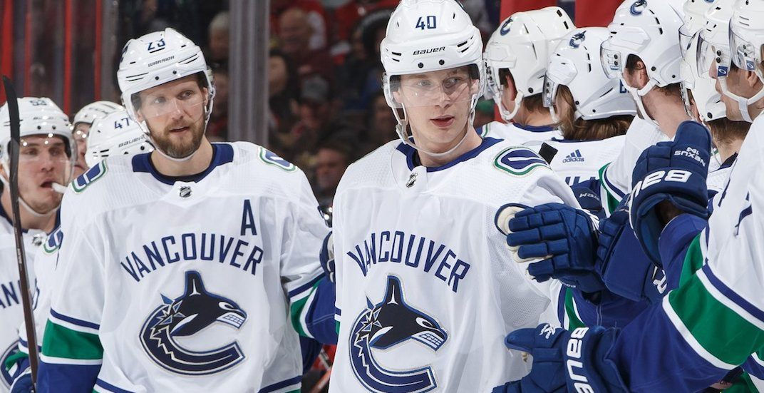 Canucks' Pettersson earned almost half a million dollars yesterday
