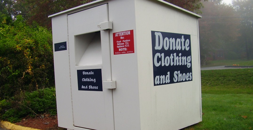 Loss of clothing donation bins forecast to cost Big Brothers $500,000