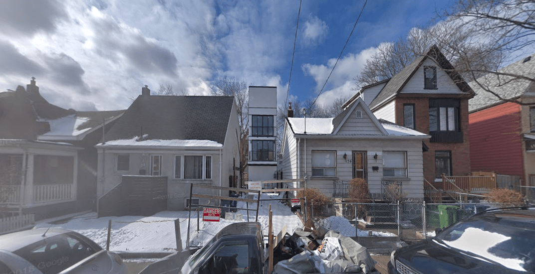 This unusually skinny home in Toronto is selling for $3 million (PHOTOS)