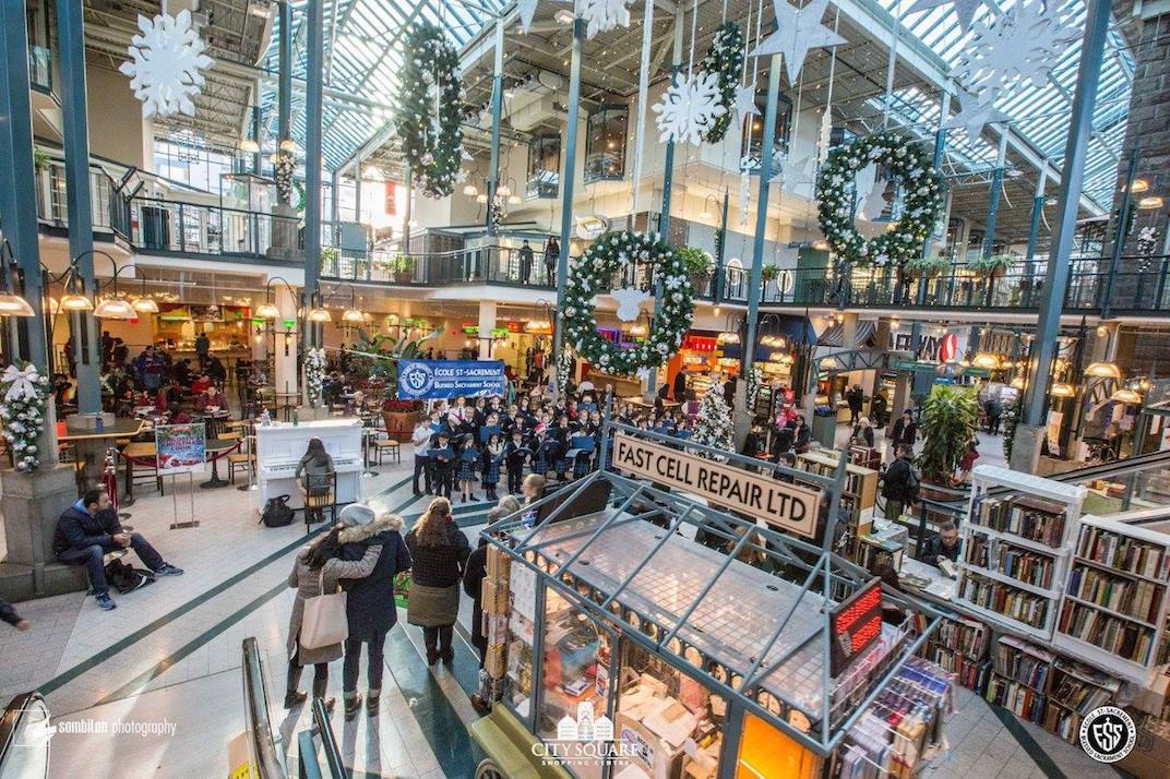 Vancouver City Square Shopping Centre