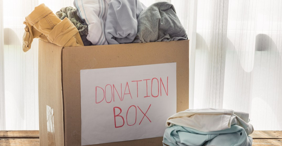Where to donate clothing and household items in Seattle