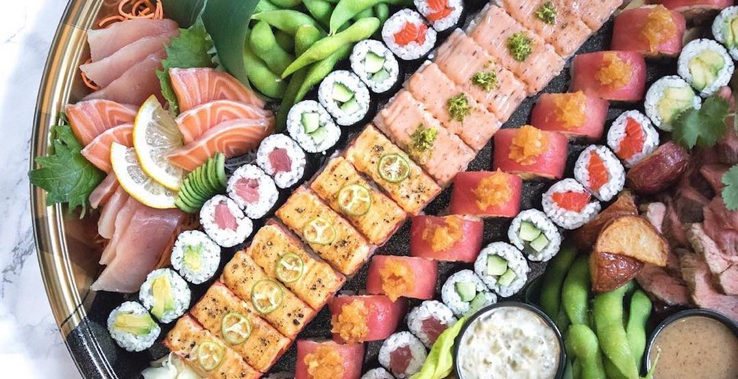 A new aburi sushi spot is about to open in Yorkdale Mall