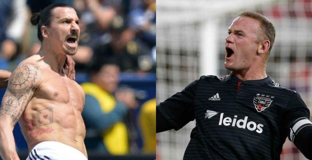 Ibrahimovic and Rooney visit Whitecaps in 2019 (SCHEDULE)