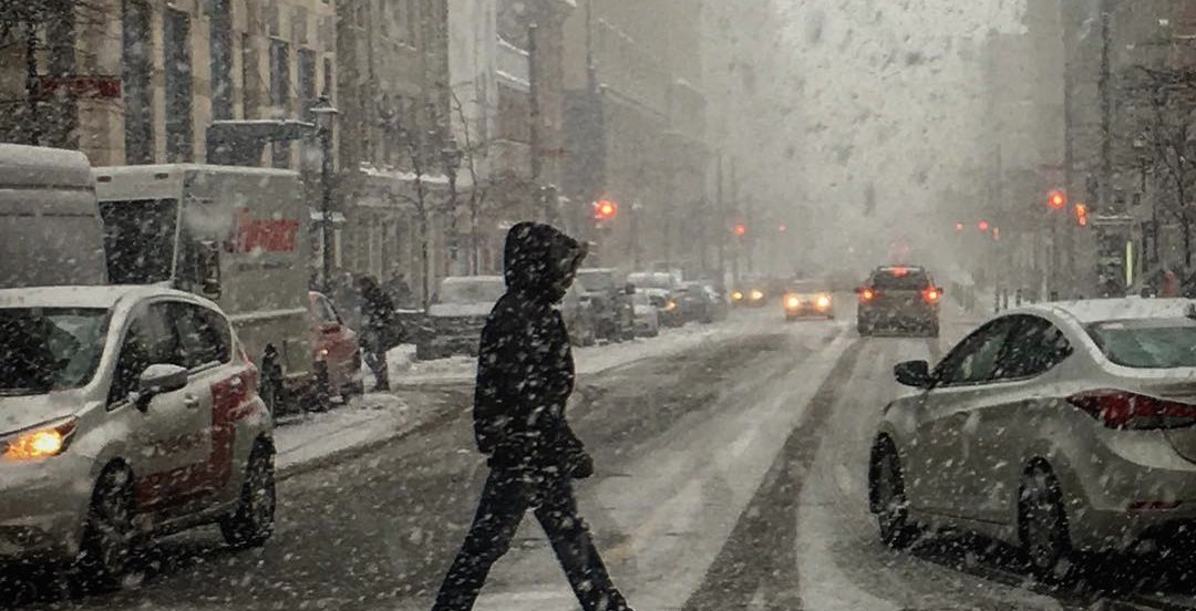 Special weather statement remains in effect for Montreal January 8 | News