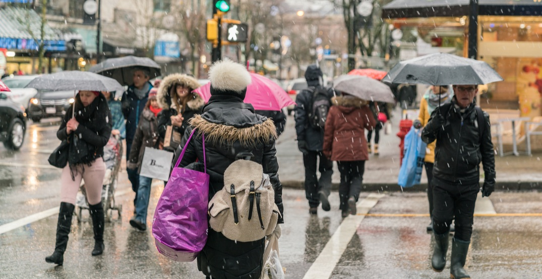 Special weather statement calling for wet snow in Metro Vancouver today