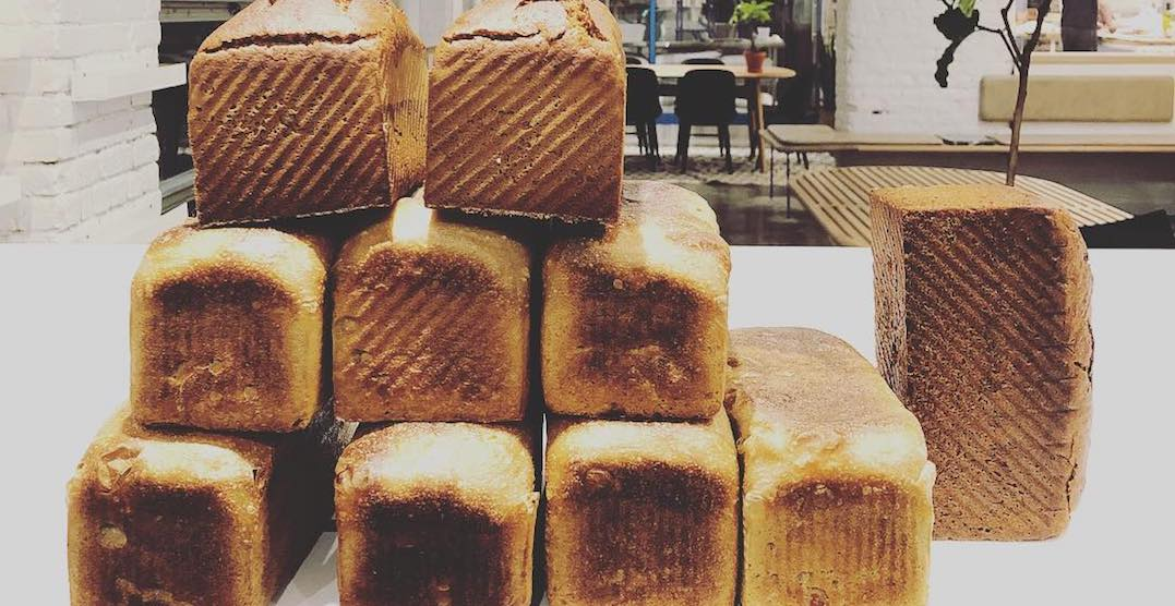 This bakery in Liberty Village mills their own flour on-site