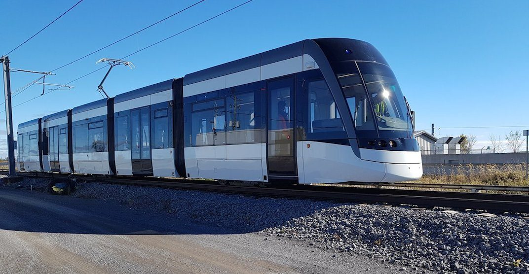 Eglinton Crosstown LRT trains starting to arrive in Toronto