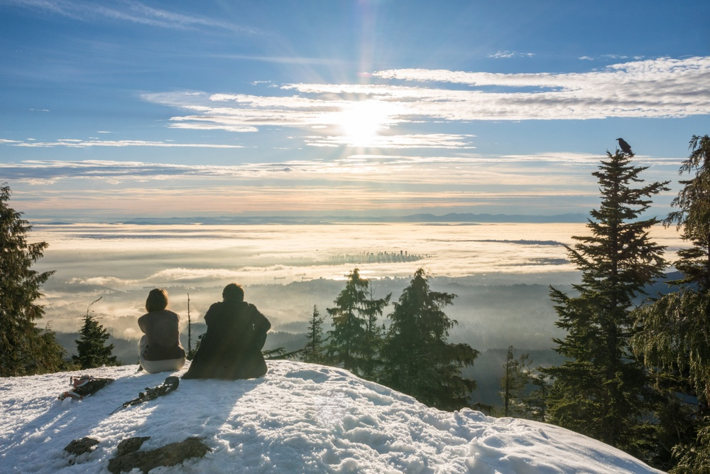 The best dog-friendly snowshoeing and winter hikes near Vancouver