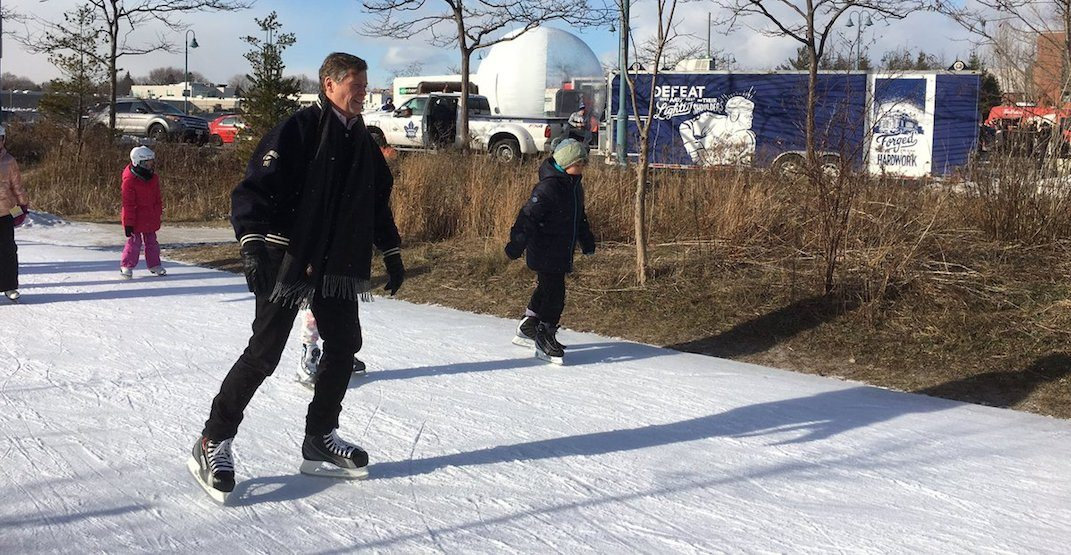 Mayor John Tory's annual Winter Skate Party is happening January 12
