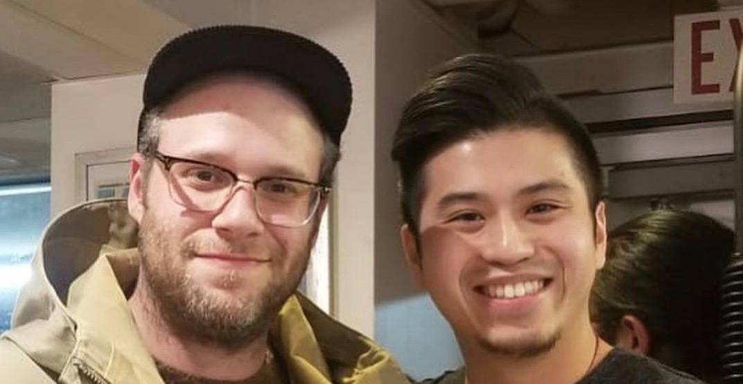 Seth Rogen gives major shout out to Richmond's HK BBQ Master