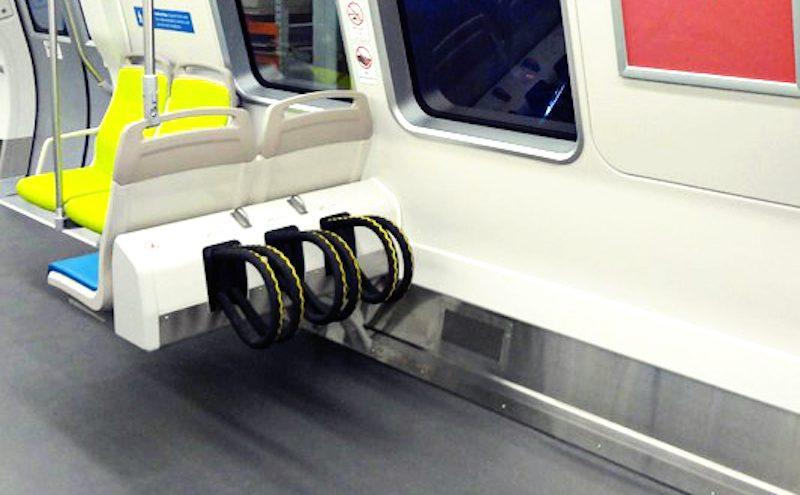 bike rack train