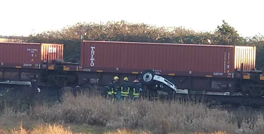 Vancouver man dead after fatal collision between train and semi-truck