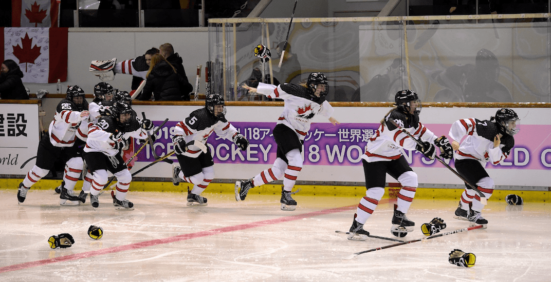 Canadian women dethrone USA with golden goal (VIDEO)